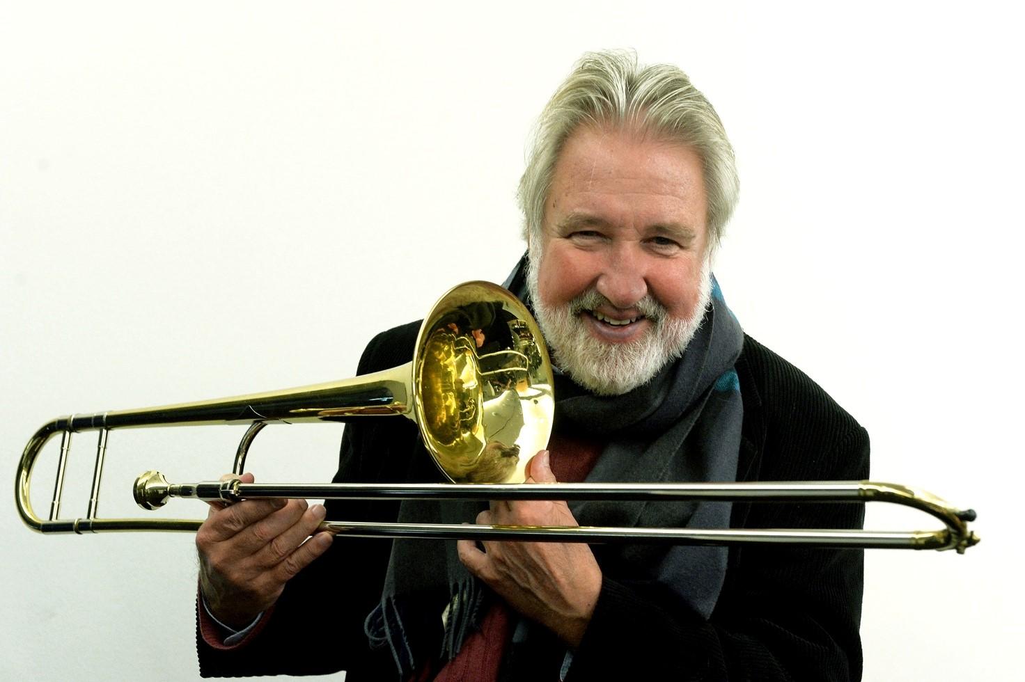 """27/3 2020: """"Kammerjazz"""" med Jiggs Whigham på Trombone"""